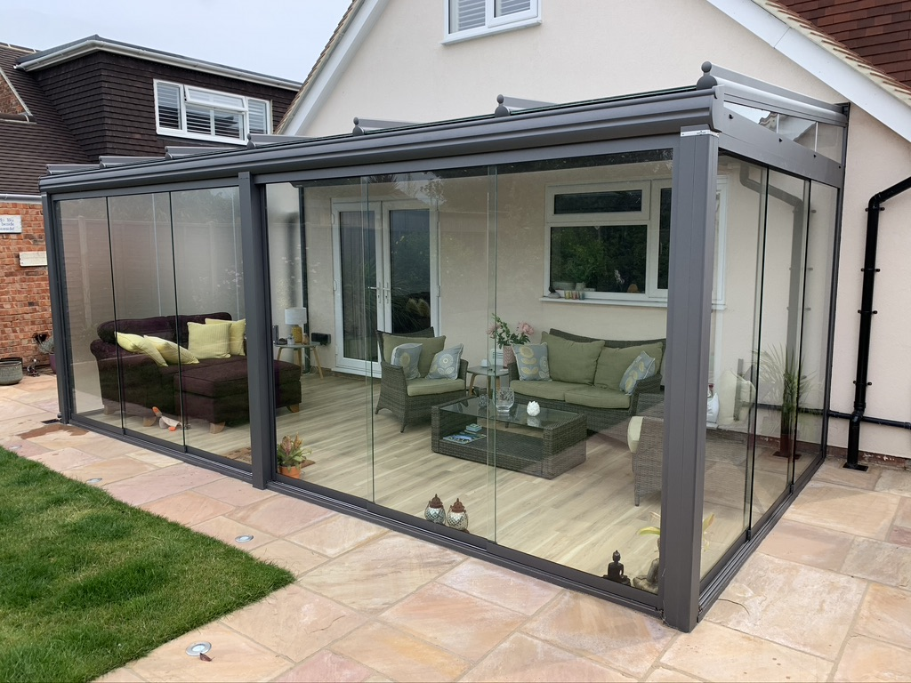 Authorised Weinor dealers of Glass Verandas and Glass Rooms