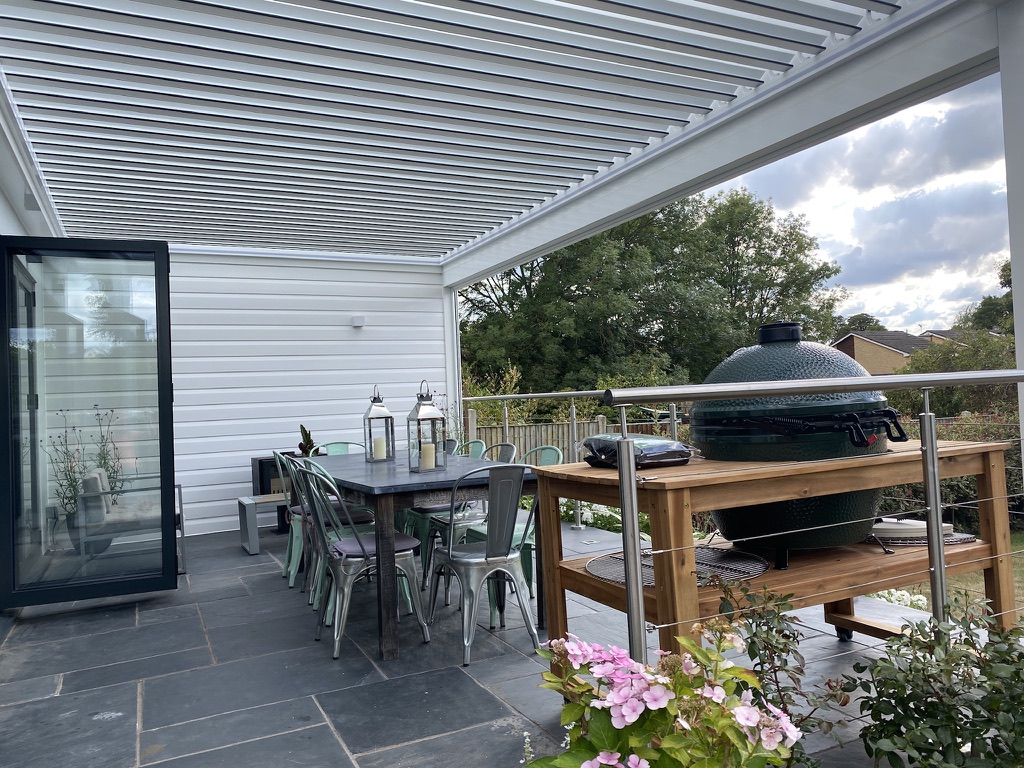 Louvered Roofs in Chertsey, Surrey