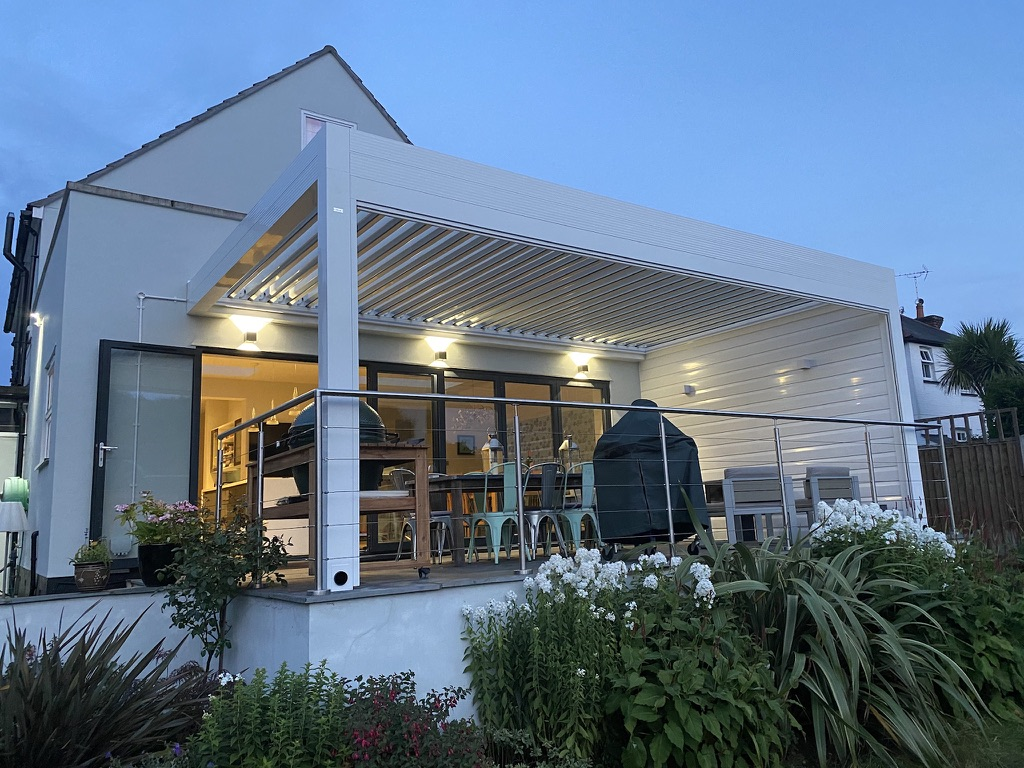 Louvered Roofs in Whitstable, Kent