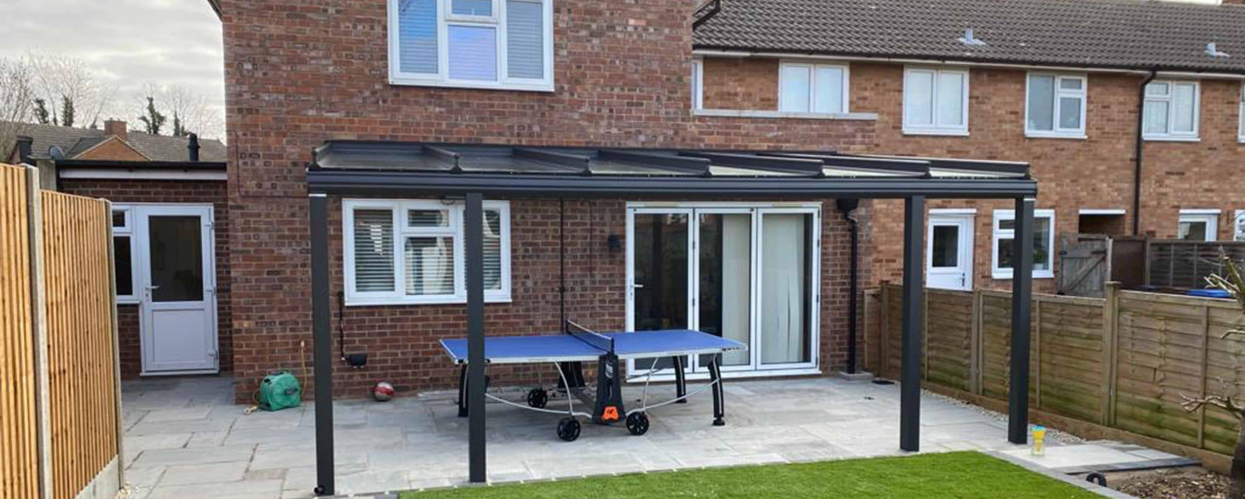 A Glass Veranda in Welwyn Garden City, Hertfordshire