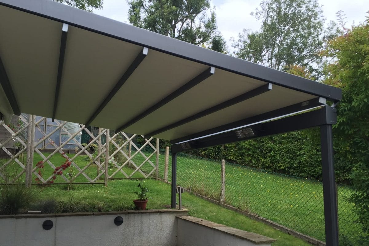 Textile Roof System Install in Surrey