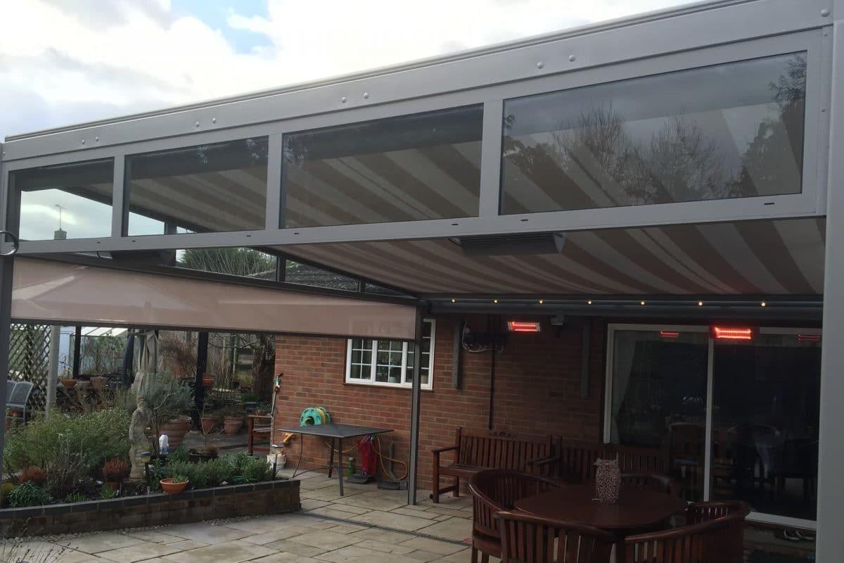 Our Custom Designed Veranda Project in Berkshire